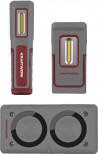 Lampade portatili a LED WI300 + WI600 ricaricabile senza fili ( set 3 )
