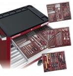 Carrello porta utensili, 6 cassetti da 191 pezzi