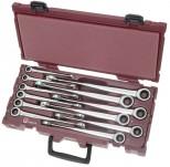Valigetta COMPLETO di chiavi combinate a cricchetto CLICKRAFT LARGO 90